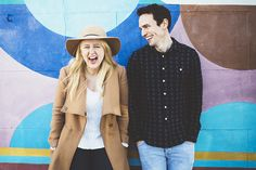 Fun Colourful Notting Hill Engagement http://www.leannejade.com/