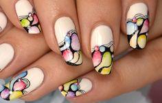 Diseños de uñas naturales sencillos, diseño uñas naturales esmalte blanco.   #uñas #decoratednails #uñassencillas