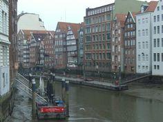 Hamburgs Brücken: Holzbrücke - täglich zeige ich eine andere Brücke aus Hamburg auf kurzundknapp.jimdo.com