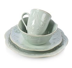 Lenox French Pearl 16-Piece Dinnerware Set