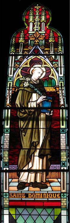 Limoges Francis Chigot, saint Dominique (avec des bottes), 1932, musée des maîtres et artisans du Québec, Montréal