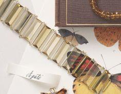 Citrine Bracelet; page from Martha Stewart Weddings