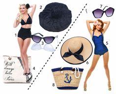 Brand New You're Retro...  #vintage #swimsuit #bikini #beach