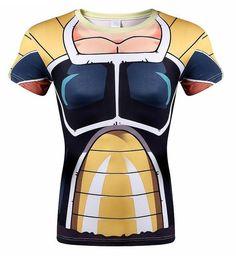 Goku 3D t shirt DBZ t shirts Women Men Casual tees