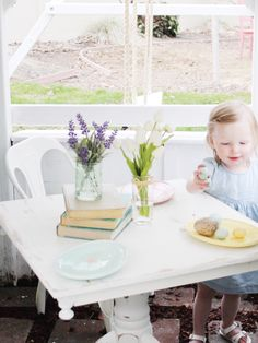 With the weather warming up we have been playing outside a lot. This spring we have been playing a lot out in grandmas playhouse. Maylee has been loving it! When we aren't playing outside she…