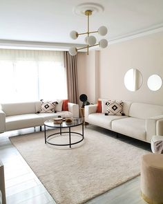 Living Room Interior, Home Living Room, Living Room Designs, Living Room Decor, Bedroom Decor, Salon Interior Design, Home Design Decor, Home Decor, Home Furniture