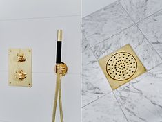 Bilder, Badrum, Mässing, Marmor - Hemnet Inspiration Beautiful Interior Design, Nordic Design, Carrara, My Dream Home, Pattern, House, Bergen, Home Decor, Bathrooms