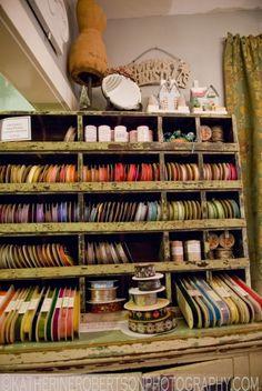 The Smitten Flea has lot's of vintage ribbon!