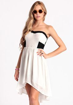 Lady Serenity High-Low Dress - $46.00 : ThreadSence.com, Free-spirited fashion for the indie-inspired lifestyle