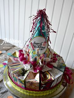 Picture Perfect Birthday Cake Centerpiece and Party Favors, 2018 Occasions Catalog, #seeinginkspots