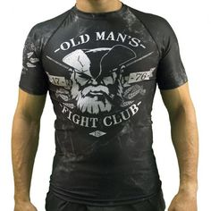 be4731ba Old Man's Fight Club Rash Guard Rash Guard, Shades, Popular, Mens  Boardshorts,