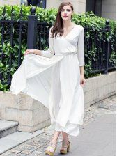 Fashion Fishtail Large Slim Dress