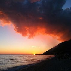 Drymadhes, 9415 Dhërmi, Vlorë, Albania   http://www.movingculture.org/new/Tourism-Adventure/altea.php  #nature #beach #summer #vacations #albania #beautiful #sunset #colors