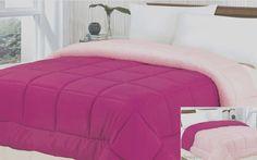 Down Alternative Reversible Rose/Pink Comforter Size: King / Cal King