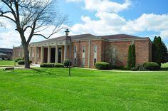 Carson Newman College Campus | Campus Map - Tarr Music Center