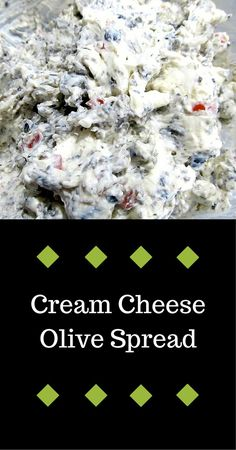 cream cheese olive spread. Takes like 5 minutes to make - but make a lot.