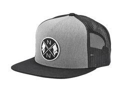Bower Black Snapback Cap by NIXON