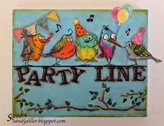"""My """"Crafty"""" Life on the Internet: Party Line"""