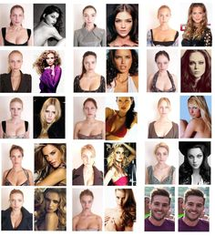 Whoa. Victoria's Secret Models before and after makeup and photoshop. Don't compare yourself to them. They get paid to work out, get botox, go tanning, and have breast lifts. Don't. Compare. Yourself.