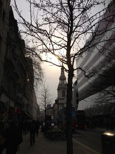 The Sun attempts a breakthrough over Bow Bell, City of London.
