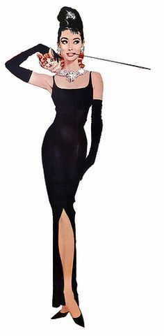 Audrey Hepburn, Breakfast at Tiffany's by Robert E. McGinnis