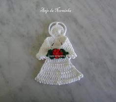 BARRED WORKSHOP: Croche & Christmas - Angels for PAP Barring ...