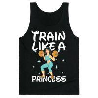 Train Like a Princess (light) Tank