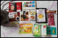 Received Free Samples for June 2013