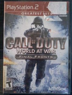 PlayStation 2 Game - Call of Duty: World at War - Final Fronts PS2 Greatest Hits