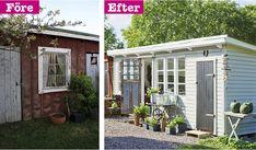 Ocean House, Outdoor Gardens, Outdoor Living, Shed, Garage, Outdoor Structures, Windows, Boden, Carport Garage