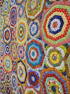 Chris Kenna: Millefiori detail world quilt show florida 2012 | Flickr - Photo Sharing!