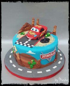 Carzone is a website aimed at car enthusiasts who want to see luxury cars in different worlds Cars Theme Cake, Disney Cars Cake, Mcqueen Cake, Very Beautiful Images, Birthday Parties, Birthday Cake, Themed Cakes, Birthdays, Desserts