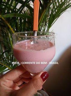 RECEITA DE PETIT SUISSE DE KEFIR DE LEITE