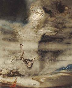 Salvador Dalí - Christ of Valles, 1962