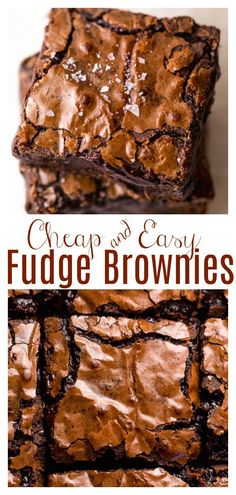 Brownie Recipe With Cocoa, Best Brownie Recipe, Recipe For Brownies, Simple Brownie Recipe, Easy Brownie Recipes, Best Chocolate Brownie Recipe, Homemade Fudge Brownies, Brownie Desserts, Brownie Cake