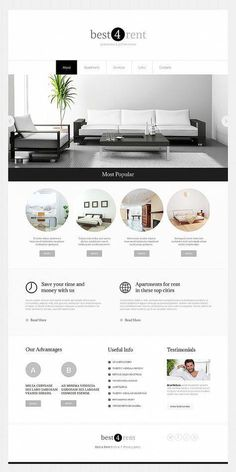 Minimal Website Design for Real Estate Agency - image Website Design Inspiration, Best Website Design, Minimal Website Design, Real Estate Website Design, Site Web Design, Website Design Layout, Hotel Website Design, Website Designs, Website Ideas