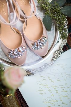 elegant wedding shoes