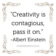 Creativity is key✨ . Wedding Planning Quotes, Wedding Planner, Conkers, Event Planners, Fundraising, Life Lessons, Truths, Charity, Motivational Quotes