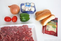 Philly Steak Sandwiches…using a speedy kitchen technique! Philly Steak Sandwich, Sweet And Sour Recipes, Visit Philly, Living In Boston, Sausage, Sandwiches, Favorite Recipes, Beef, Kitchen