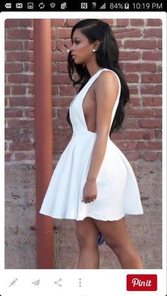 dress white dress low sided short dress white short dress side boob mini dress sexy dress flirty summer dress clubwear trendy h&m white high heels medium heels sandals midi skirt peplum dress
