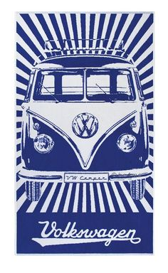Introducing the new VW Bus Beach Towel collection! Choose from 4 different designs. There is no need for any other beach towel this summer! These towels are the perfect gift for any vw fan! Volkswagen Bus, Vw T1, Vw Camper, Volkswagen Beetles, Campers, Vintage Tin Signs, Vw Vintage, Vw Samba Bus, Vw Beach
