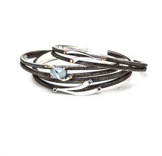 Stackable cuffs! #BondageIsBeautiful #sterlingsilver #cuffs #gems #LisaRobinJewelry #fiftyshades #fiftyshadesofgrey #layered #yellowgold