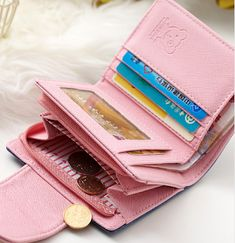WOMEN's LIFESTYLE: Girls wallets Purses, TripleClicks, SFI Photo Holders, Women Lifestyle, Clutch Wallet, Leather Fashion, Wallets For Women, Ornament, Card Holder, Purses, Girls