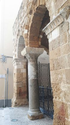 Portico dei templari.  Brindisi