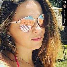 #clientewanny    #Repost @manulimablog with @repostapp. ・・・ Pink sunglasses ---> Dior para @oticaswanny   #dior #diorsunglasses #reflected #diorreflected #sunglasseslover #apaixonadaporoculos #pinksunglass