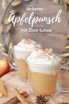 Fancy Drinks, Winter Drinks, Xmas Food, Coffee Recipes, Drinking Tea, Food Videos, Italian Recipes, Smoothies, Nom Nom