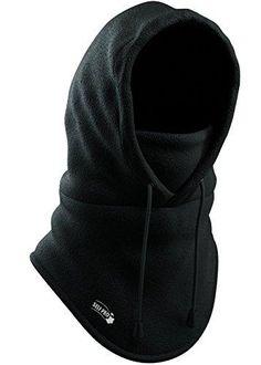 10880a8977d Balaclava Fleece Hood - Windproof Ski Mask - Heavyweight Cold Weather Winter  Motorcycle