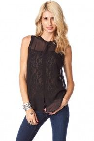 Soren Tank with Lace