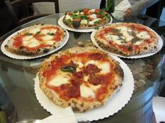 Gusta Pizza in Florence. OMG, best pizza I have ever eaten in my entire life.