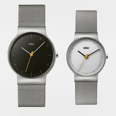 The new ultra-slim BN0211 is the latest watch from iconic German brand Braun. Get yours at Dezeen Watch Store #design #watches